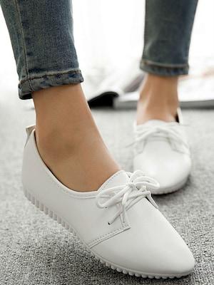 Плюсы и минусы женской обуви без каблука
